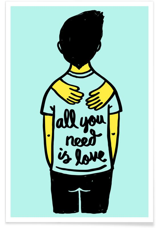 All You Need Is Love (Colour) -Poster