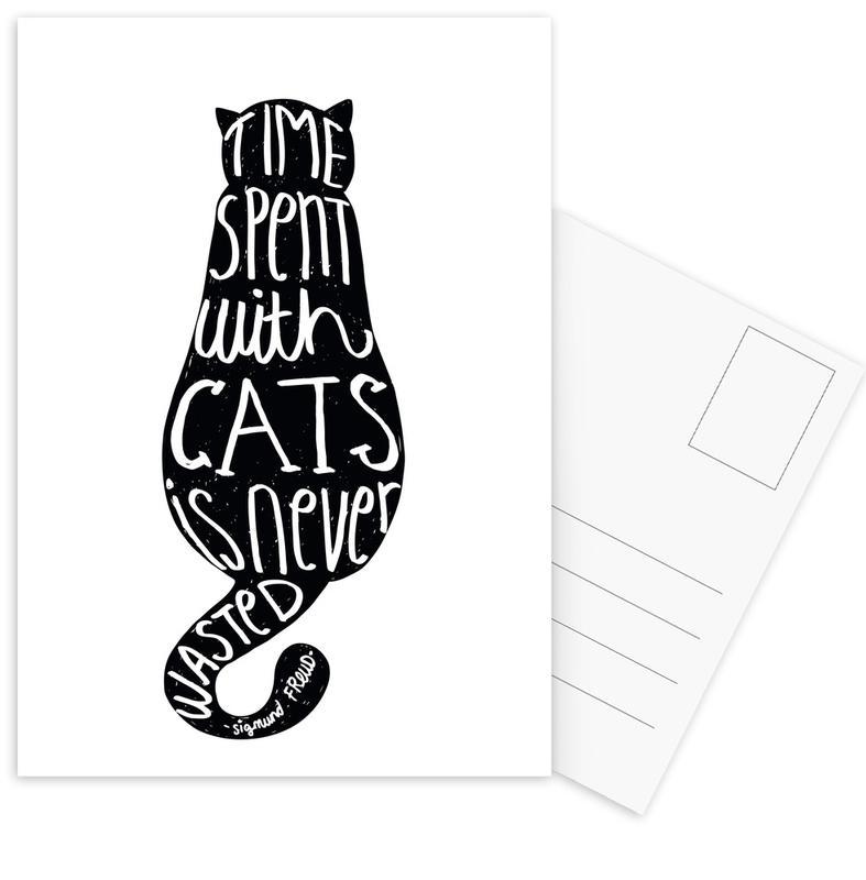 Freud's Cat Postcard Set
