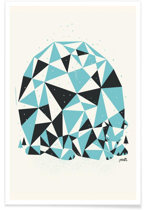 Bears, Forest 3 Poster