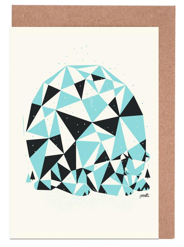 Forest 3 Greeting Card Set