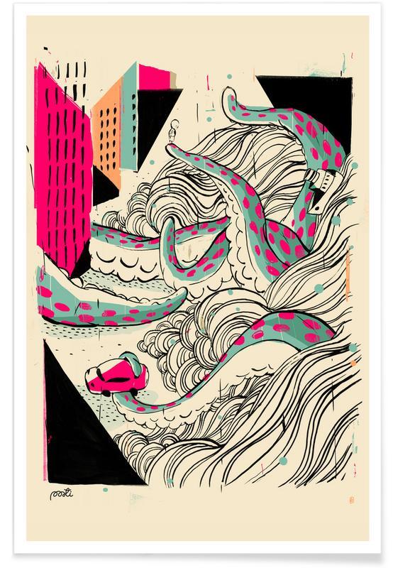 Octopussen, Giants Pulpo poster