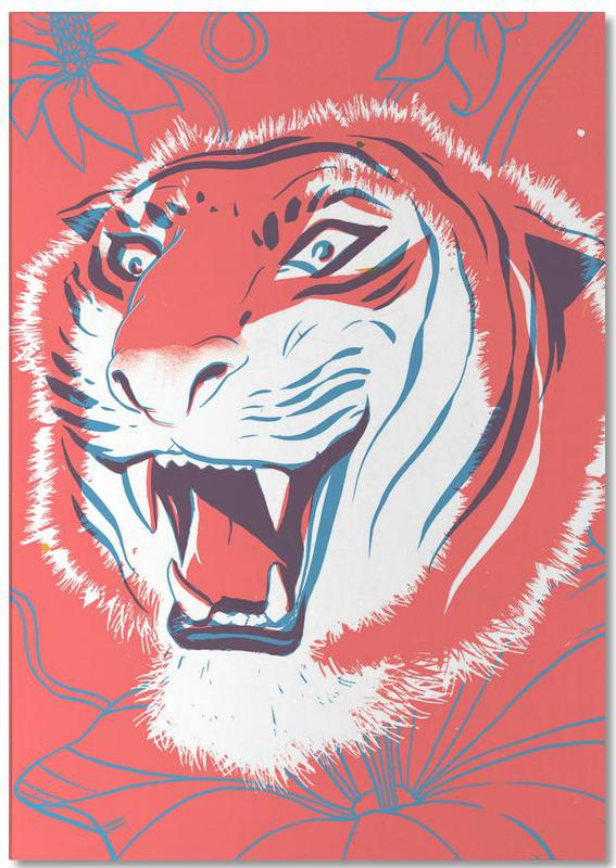 Tiger -Notizblock