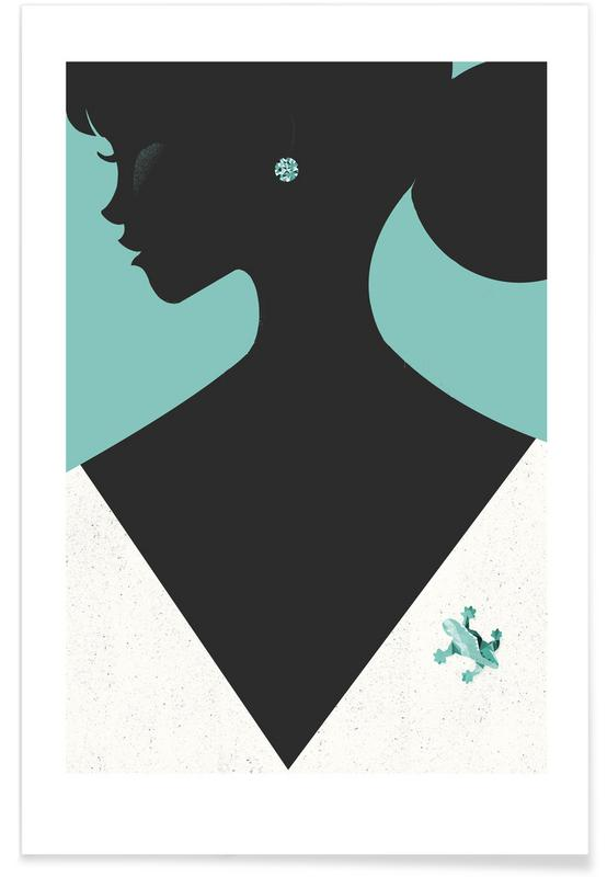 Boats, Diamond Poster