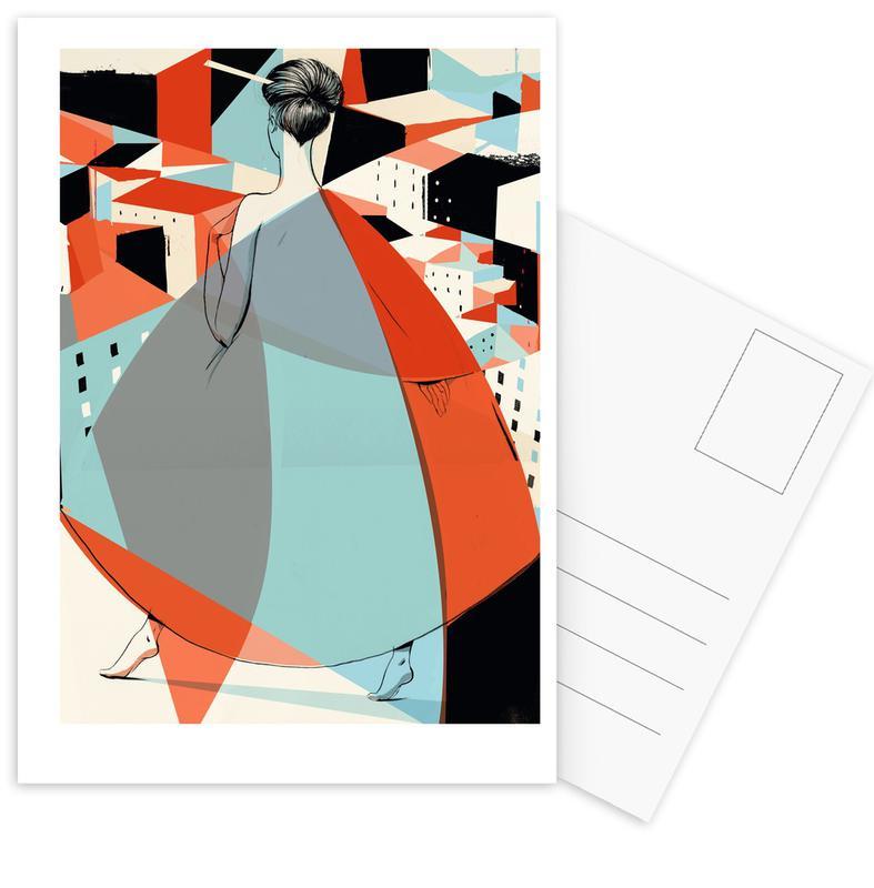 , Architecture Postcard Set