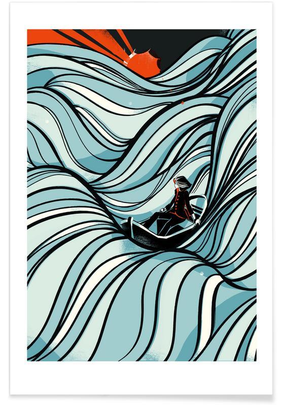 Boten, Retro, Sea Of Love poster