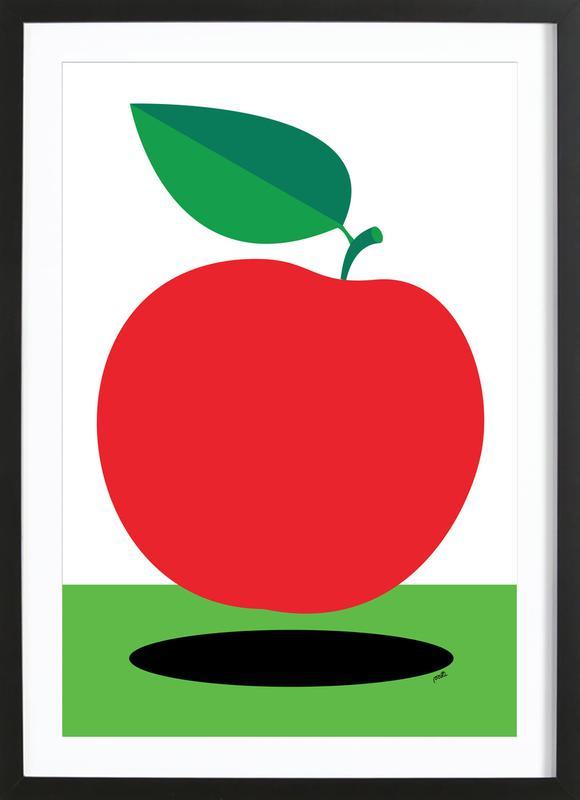 Apple 1 ingelijste print