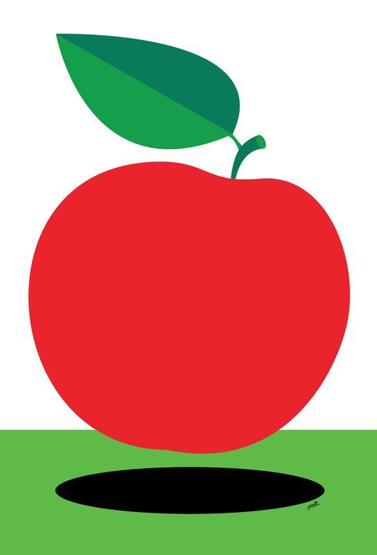 Apple 1 acrylglas print