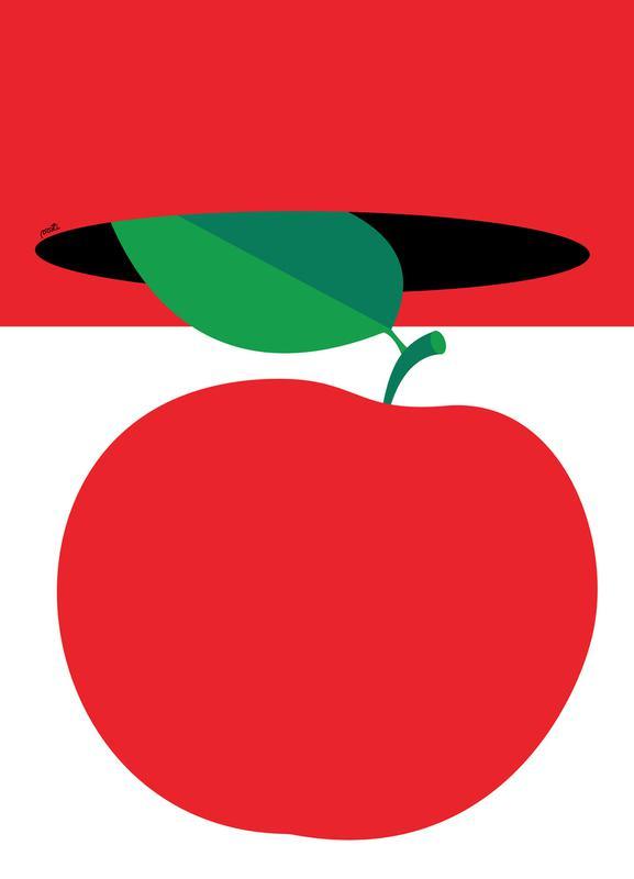 Apple 3 canvas doek