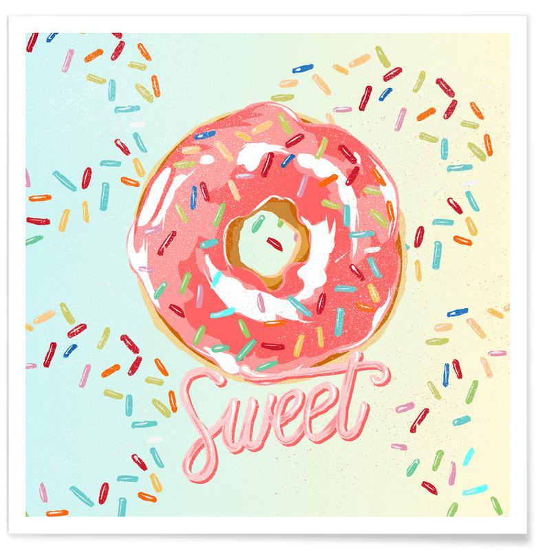 , Doughnut Plakat