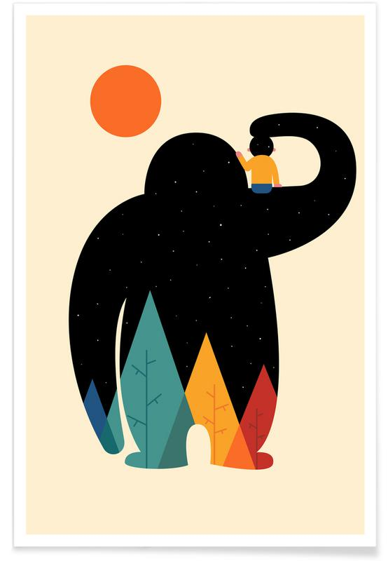 Børneværelse & kunst for børn, Pa Pa Plakat