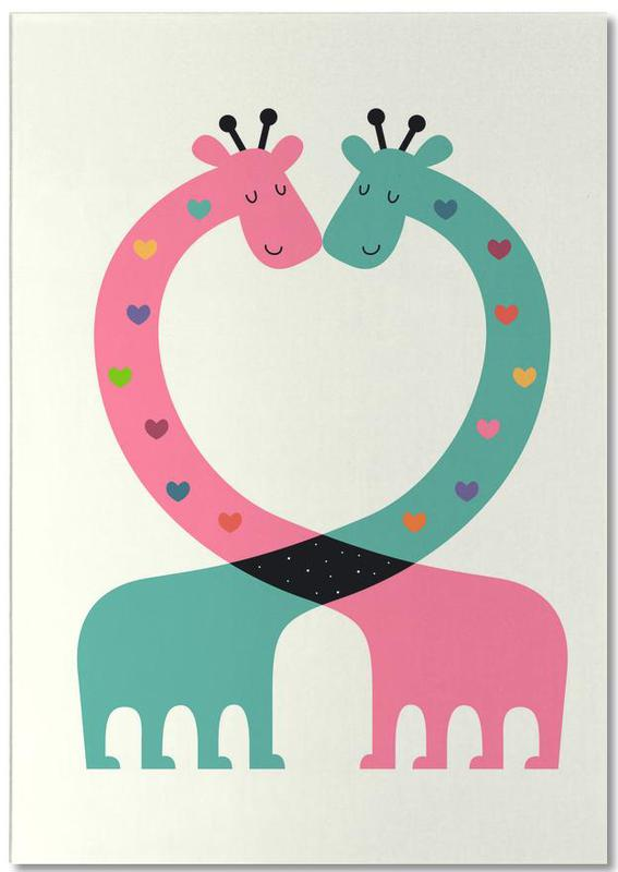 Love With Heart Notepad