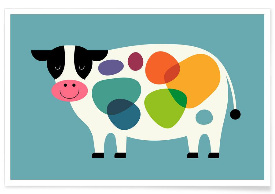 Awesome Cow -Poster