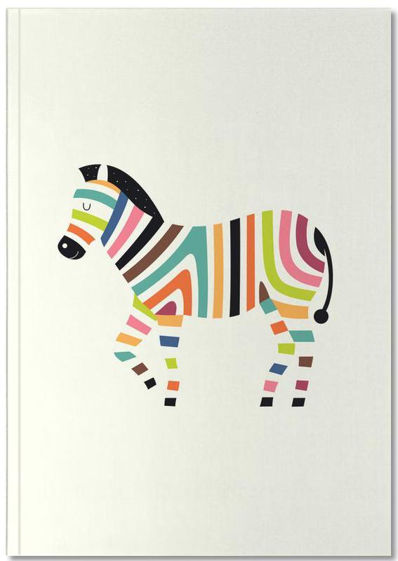 Art pour enfants, Zèbres, Magic Code Notebook