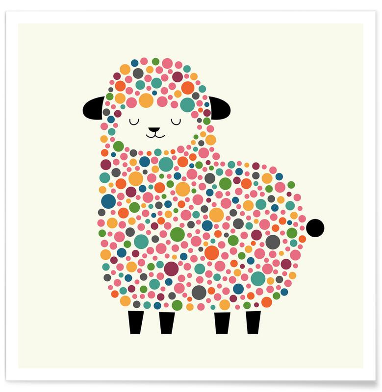 Bubble Sheep -Poster
