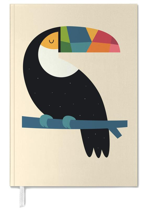 Rainbow Toucan Personal Planner