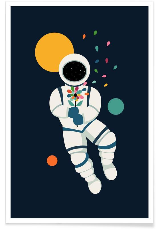 Astronautes, Félicitations, Saint-Valentin, Last Beautiful affiche