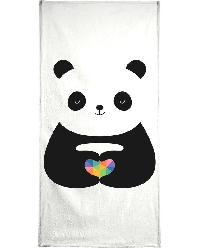 Panda's, Jubileums en liefde, Harten, Panda Love strandlaken