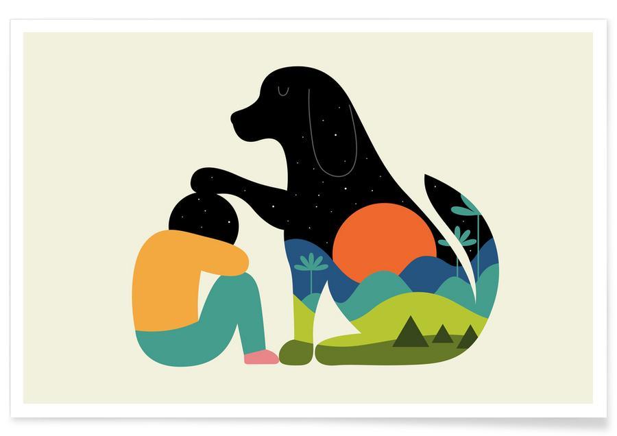 Hunde, Entschuldigung, Kinderzimmer & Kunst für Kinder, The Best Is yet to Come -Poster