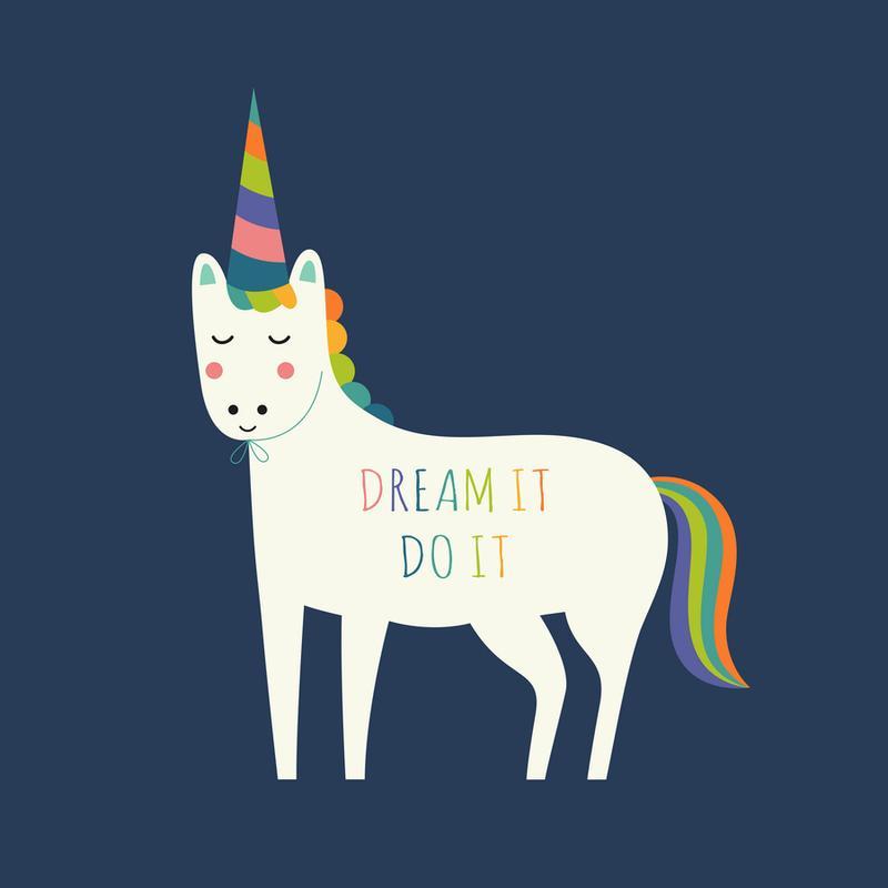 Dream It Do It -Leinwandbild