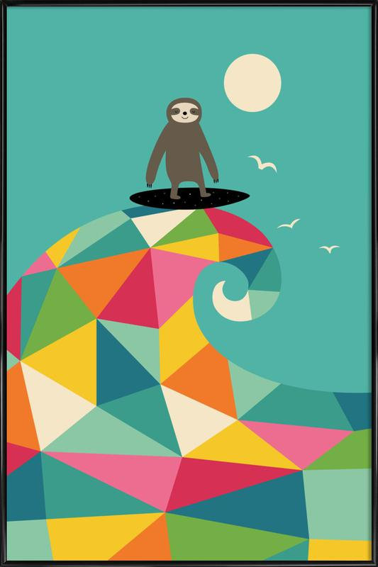 Surf Up Poster i standardram