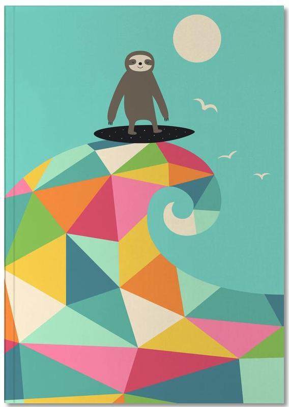 Paresseux, Art pour enfants, Surf Up Notebook