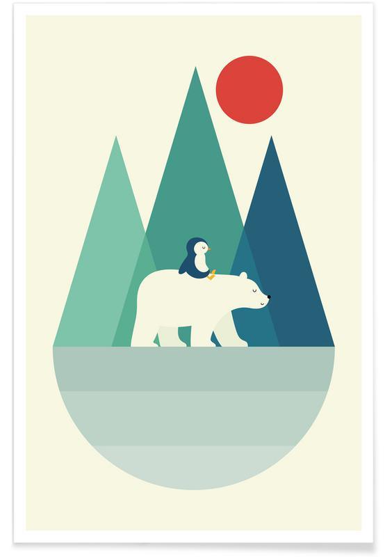 Nursery & Art for Kids, Bear You Poster