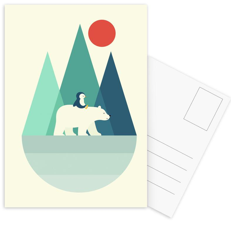 Bear You Postcard Set