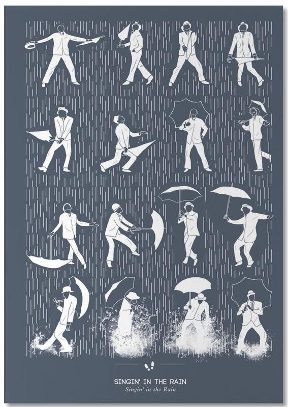 Films, Singin' In the Rain bloc-notes
