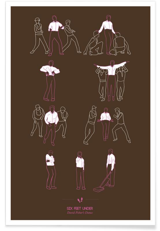 Danse, Séries TV, Danse de Six Feet Under affiche