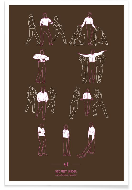 Dance, TV Shows, Six Feet Under Dance Poster