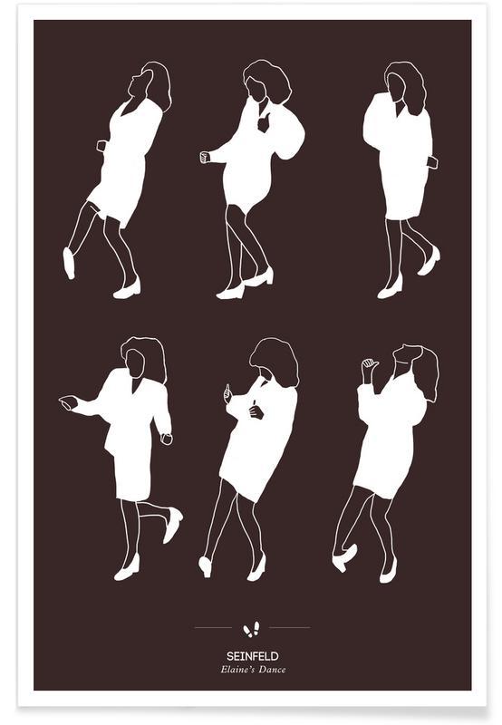 Séries TV, Danse de Seinfeld affiche