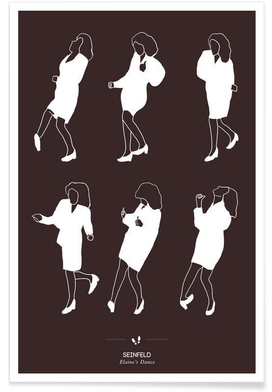 Seinfeld Dance Poster