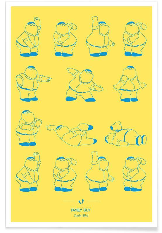 Family Guy Dance Poster