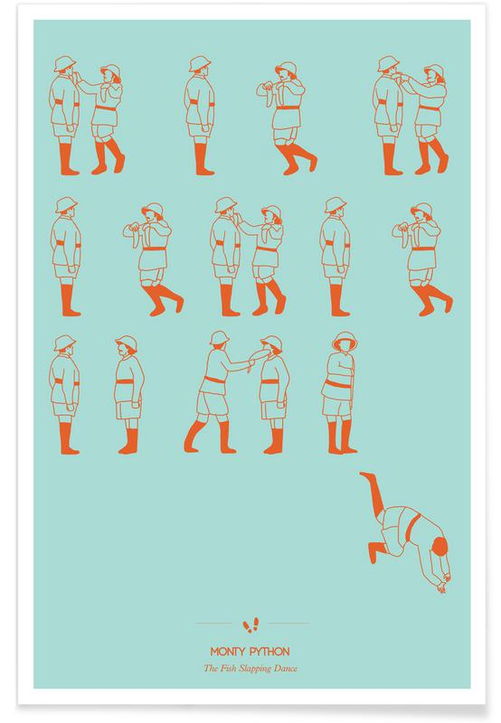 Films, Monty Python - dans poster