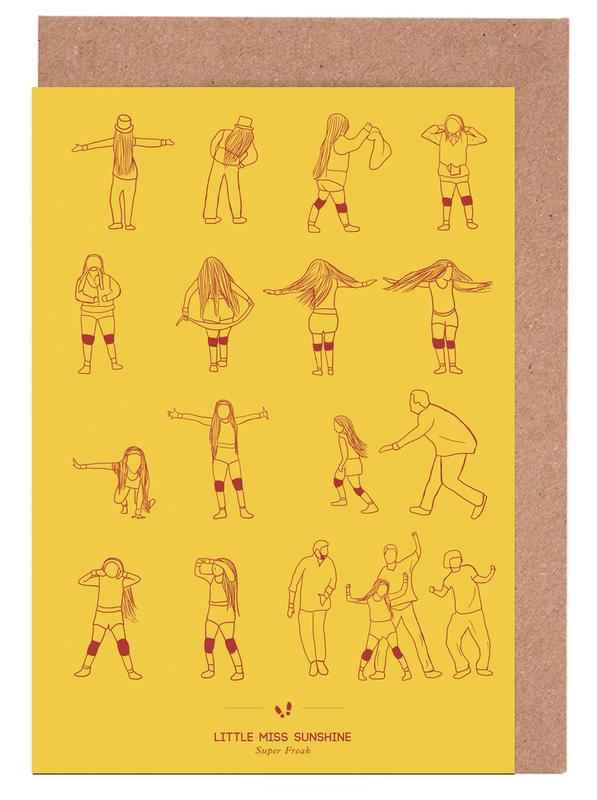 Films, Little Miss Sunshine - Super Freak cartes de vœux