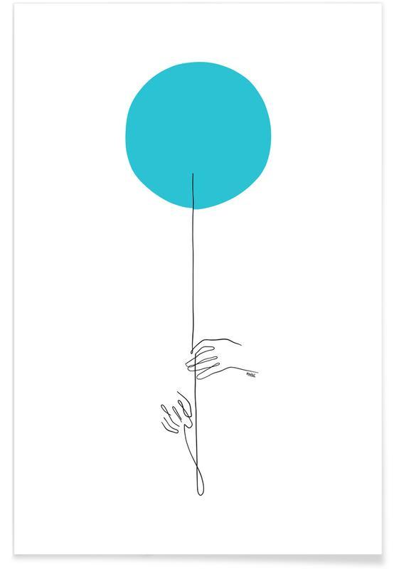 , Balloon -Poster