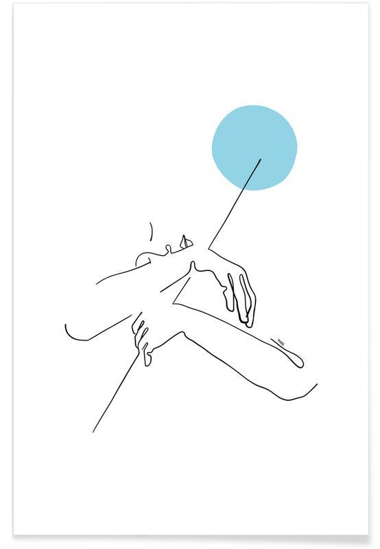 Porträts, Embrace The Moon -Poster