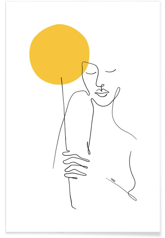 Classical, Valentine's Day, Portraits, She Brings The Sun Poster