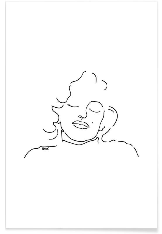Marilyn Monroe, Portraits, Monroe affiche