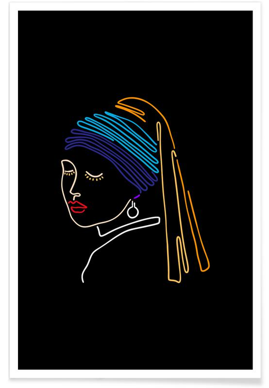 Détails corporels, The Girl With A Pearl Earring affiche