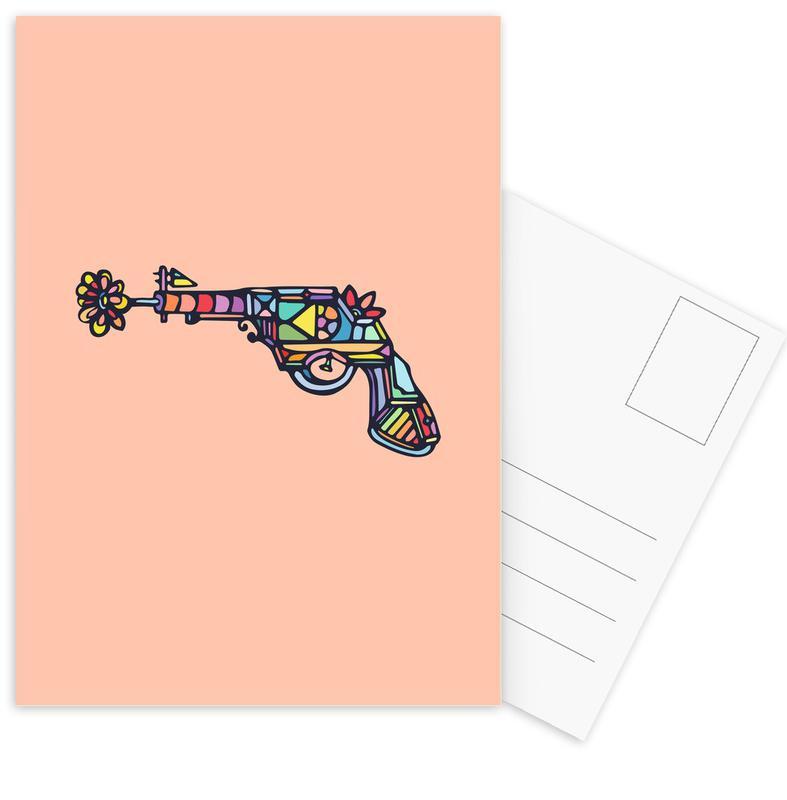 Pop Art, My Gun cartes postales