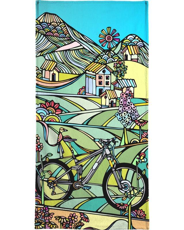 Fahrräder, Ride or Die -Handtuch