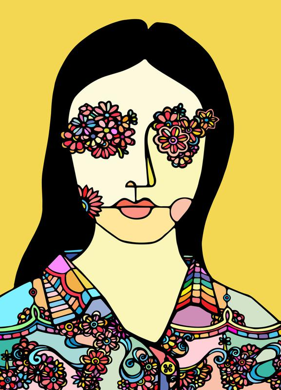 I See Flowers -Leinwandbild
