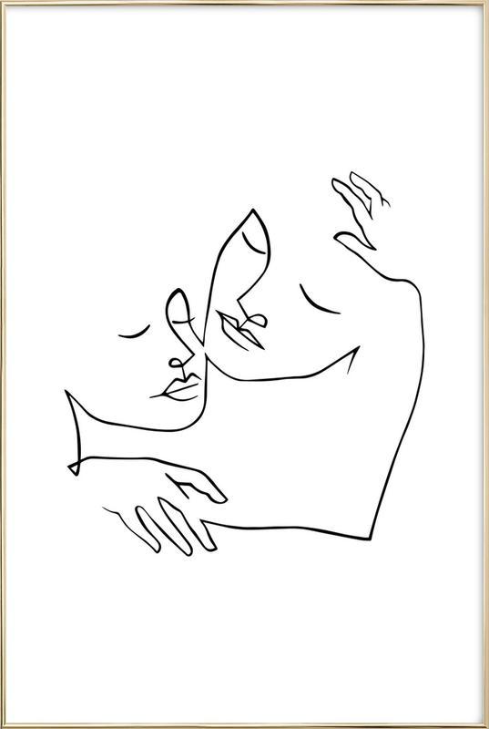 Endless Love affiche sous cadre en aluminium