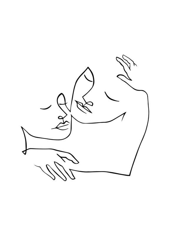 Endless Love -Leinwandbild