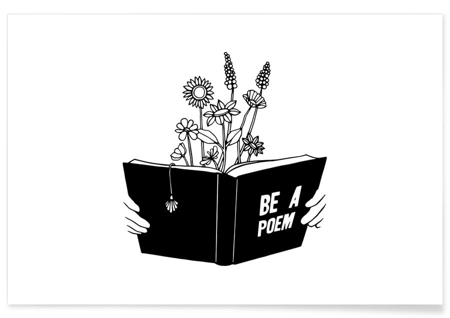 Be a Poem -Poster