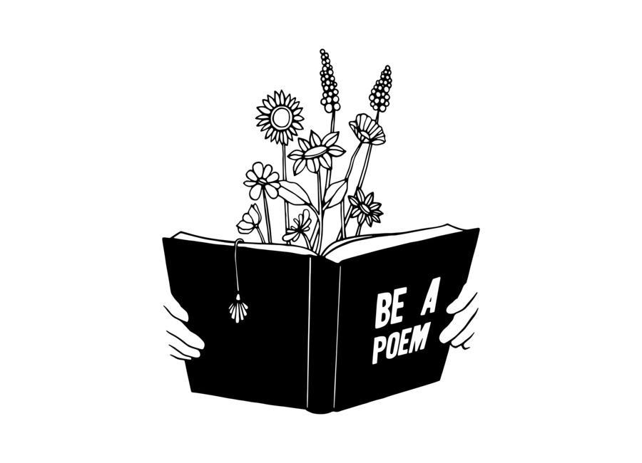 Be a Poem -Leinwandbild