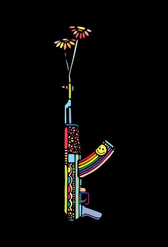 Grl Pwr Weapon -Acrylglasbild