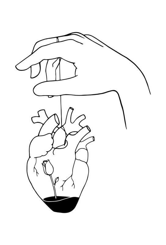 How Can You Mend a Broken Heart acrylglas print