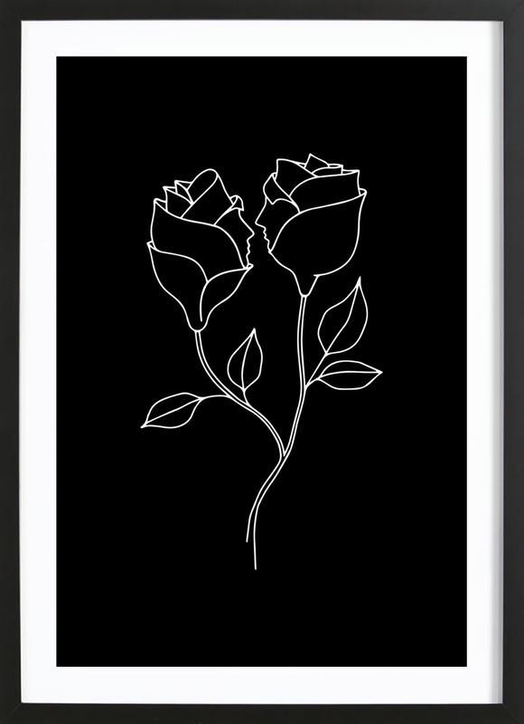 Natural Born Lovers ingelijste print